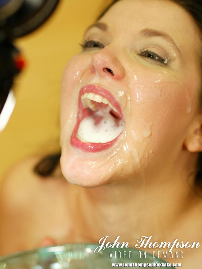 Wild amateur goo mouth issued